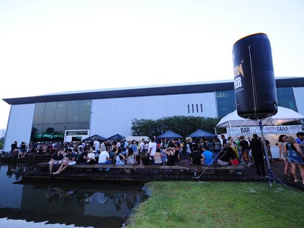 Organização do evento espera público 25% maior do que ano passado. Festival Amazônico de Cerveja   (Foto: Divulgação/ Leandro Santana)