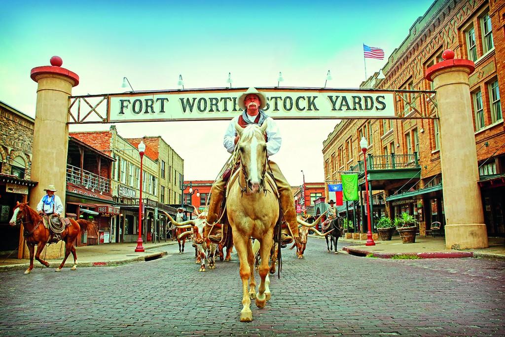 The Fort Worth Herd Stockyards Sign