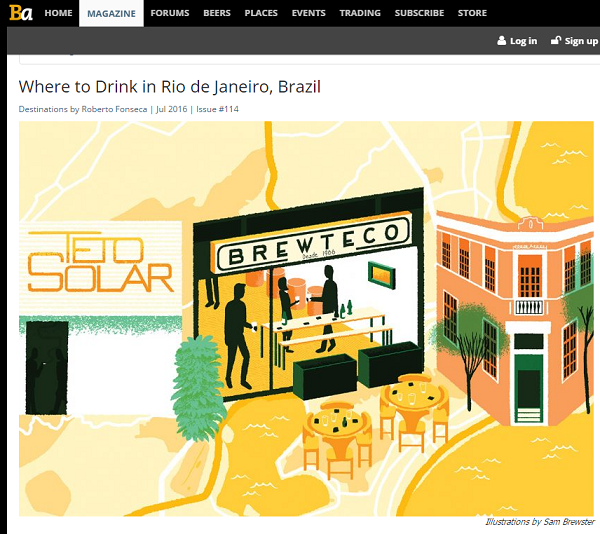 BeerAdvocate fez roteiro para beber as artesanais do Rio