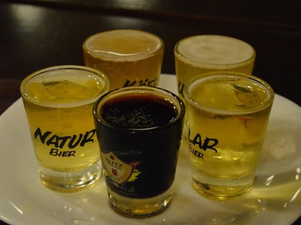 rota da cerveja (Foto: Fernanda Testa/G1)