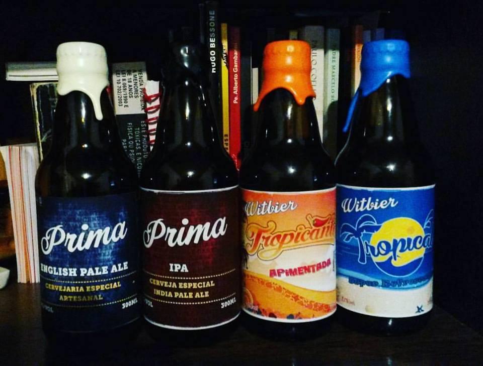 A cervejaria é conhecida como Dus Grillos. Foto: Arquivo Pessoal